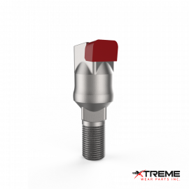 "Carbide Thumbnail Bit | Long Short / Offset Head | c/w 5/8"" Stover Lock Nut 