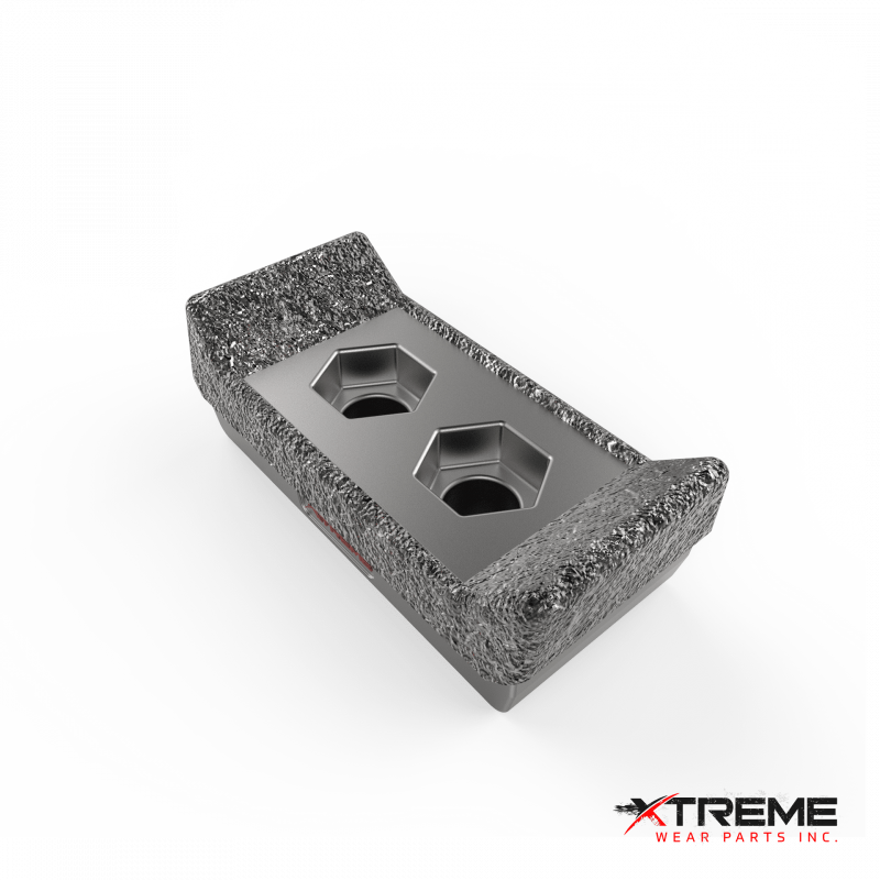 "Carbide Overlay with Sharp Edge | 3"" Wide  x 6.3"" Length 